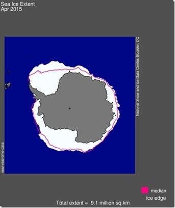 #WARMISTS #BUSTED 'Antarctic Sea Ice Expands To A New All-Time Record High In April' | News You Can Use - NO PINKSLIME | Scoop.it
