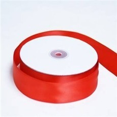 Satin Ribbon (25mm x 45metres) – Red | Satin Ribbon | Scoop.it