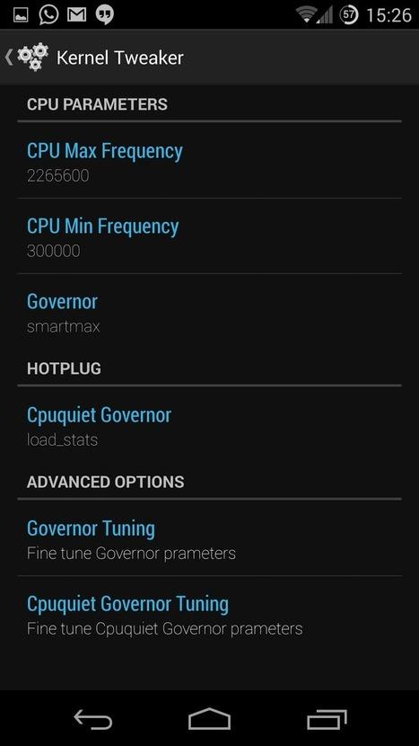 Adjust Your Kernel Settings With The Kernel Tweaker App | Android | Scoop.it