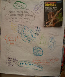 Visible Thinking Routines: Chalk Talk | Learning and Teaching Musings | Scoop.it