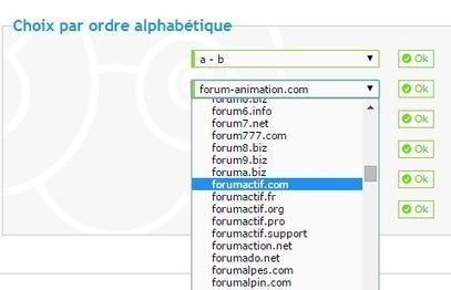 Important: Modification pour les domaines Forumactif .ca | Forumactif | Scoop.it