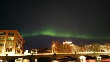 Twitter / achipa: Aurora borealis over ... | Finland | Scoop.it