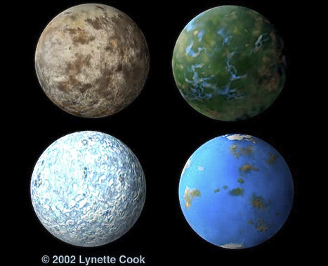 Developing a Color Code for Habitable Exoplanets | Astrobiology | Scoop.it