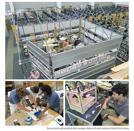 Makerspaces, espacios de creación en la biblioteca | +Información | Scoop.it