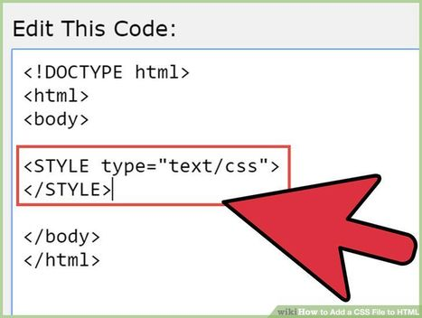 How to add CSS file in html - javatpoint | JavaTpoint | Scoop.it