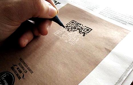 Le QR Code devient outil d'embauche | Tag&Play: NFC, partagez en temps réel toutes vos informations | Scoop.it