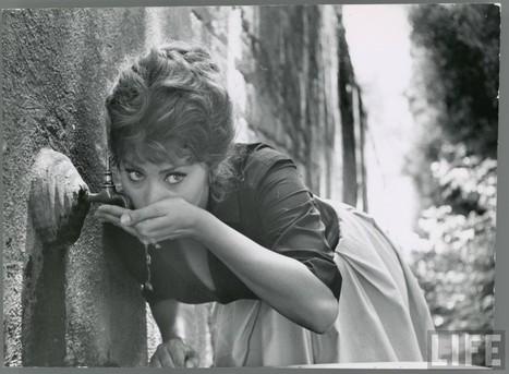 Sophia Loren by Alfred Eisenstaedt, Italy, 1961   Vintage, Robots, Photos, Pub, Années 50   Scoop.it