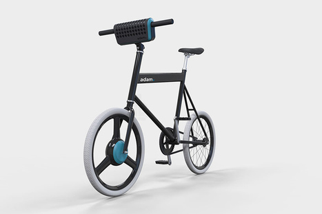 urban adam. e-bike concept includes detachable battery and speaker | Design, industrie, architecture, innovation, etc. | Scoop.it