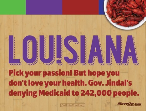 Louisiana official trying to stop MoveOn's use of Louisiana tourism slogan | Coffee Party News | Scoop.it
