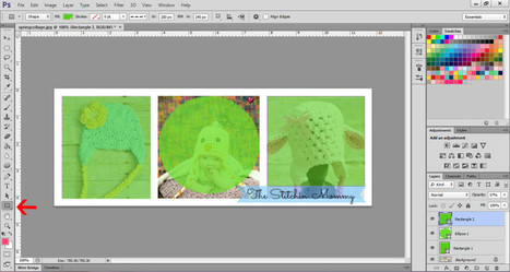 How to Map an Image Using Photoshop - The Stitchin' Mommy | Blogging tips | Scoop.it