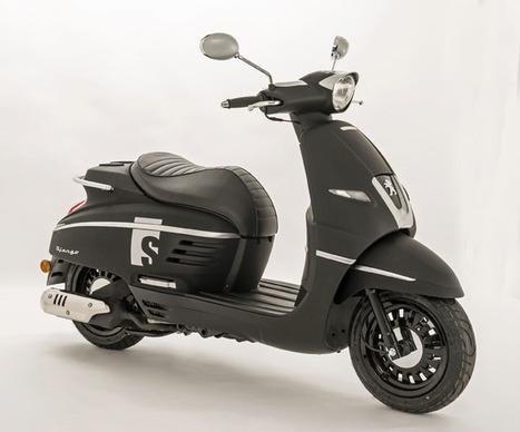Peugeot Django S: Urban Neo-Retro Scooter | Motorcycle Industry News | Scoop.it
