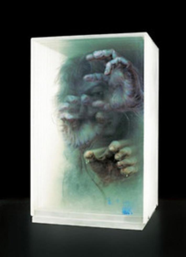 Artist Xia Xiaowan - 3D paintings on glass. Xia...   Machinimania   Scoop.it