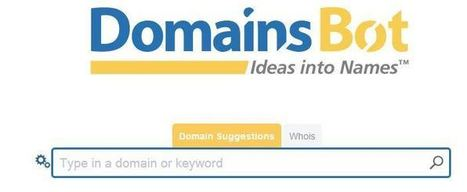 DOMAINSBOT: Suggerimenti per Nomi a Dominio anche con parole combinate | Claudia Beggiato | #WebMarketing Su Misura | Scoop.it