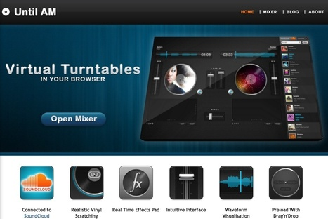 Until AM - Online DJ Tool with soundcloud | music innovation | Scoop.it