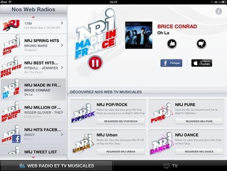 NRJ : première marque de webradios - Classement OJD Sept 2013 | LaLettrePro | Radio 2.0 (En & Fr) | Scoop.it