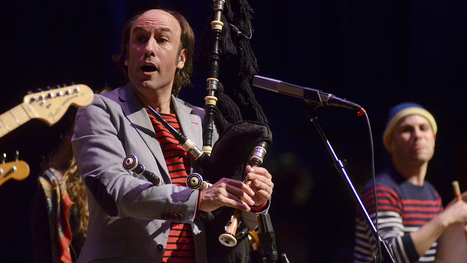 Carlos Nuñez On Mountain Stage | Spanish Bagpipes Today | Scoop.it