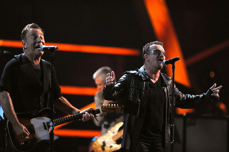 Bruce Springsteen et U2 encore ensemble sur scène - RTL2 | Bruce Springsteen | Scoop.it