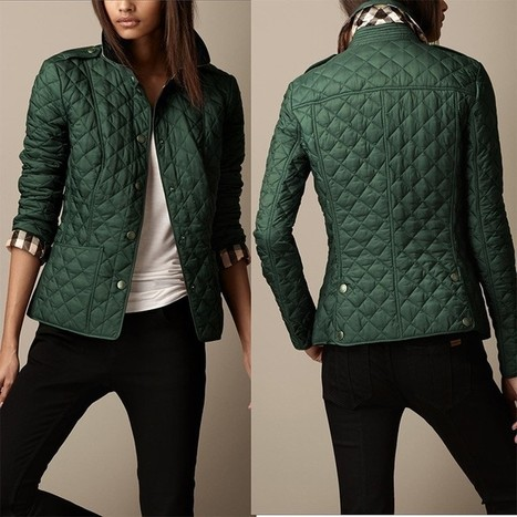 Burberry_Heritage_Quilted_Coats_Green_38878621.jpg (JPEG Image, 750×750 pixels) - Scaled (90%)   Burberry Coats Outlet Sale,Burberry Coats For Women Sale online.   Scoop.it