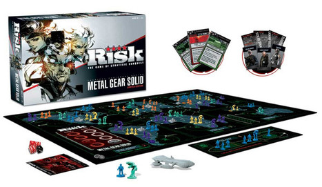 Risk: Metal Gear Solid Limited Edition   All Geeks   Scoop.it