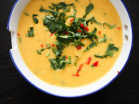 Pastinaken- Suesskartoffel- Suppe | Vegan Guerilla | rezepte | Scoop.it