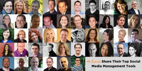 46 Experts Share Their Top Social Media Management Tools | Social Media, Communications and Creativity | Scoop.it