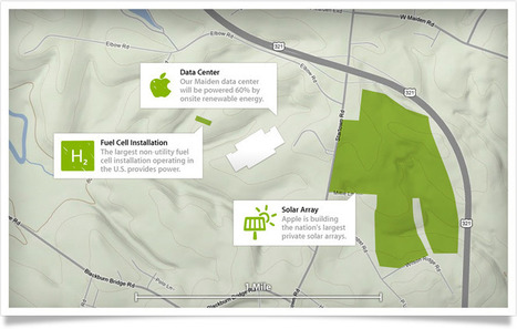Apple's North Carolina Data Center to Use 100% Renewable Energy | Caelus Green Room | Sustainability in North Carolina | Scoop.it