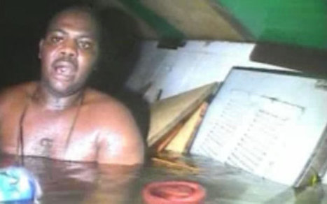 Nigerian cook who survived three days trapped in a sunken boat tells of ordeal - Telegraph | All about water, the oceans, environmental issues | Scoop.it