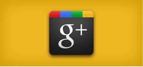 10 icônes Google+ pour votre site ou votre blog | Méli-mélo de Melodie68 | Scoop.it