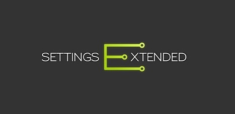 Settings Extended v1.5.5 APK Free Download   apps   Scoop.it