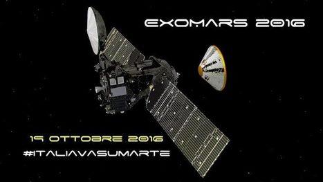 ExoMars: ci siamo. Oggi l'Europa sbarca su Marte. Tutte le info e la diretta | SCIENTIFICAMENTE | Scoop.it
