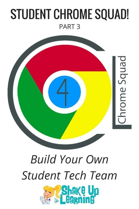Build Your Own Student Tech Team! - Student Chrome Squad (Part 3) | Shake Up Learning | IT 4 Learning | Scoop.it