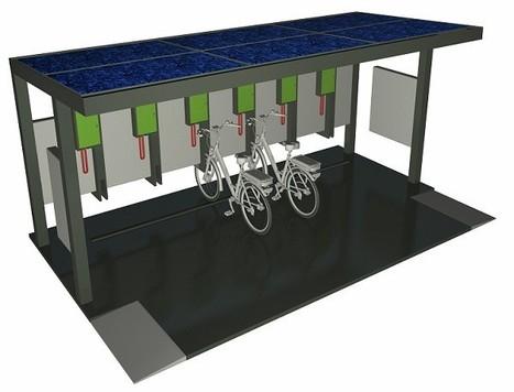 Easybike présente Véga, la première station de recharge autonome pour vélos électriques | espaces publics urbains | Scoop.it