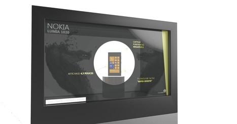 Une vitrine tactile intelligente, connectée (et française) pour révolutionner la promotion des produits stars | Data | Scoop.it
