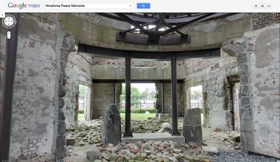 Visit the Hiroshima Peace Memorial with Google Maps | Geospatial | Scoop.it