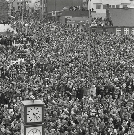Photo of the Day: When 90 percent of Iceland's women went on strike in 1975 | Féminismes | Scoop.it