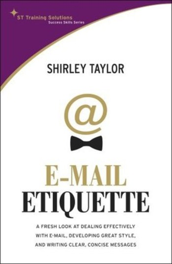 (TOOL) (PDF) - E-mail Etiquette | Shirley Taylor | Glossarissimo! | Scoop.it