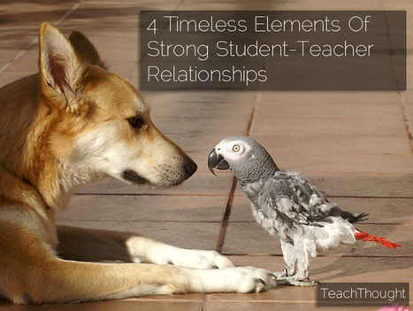 4 Timeless Elements Of Strong Student-Teacher Relationships | Social and Emotional Learning and Global classrooms | Scoop.it