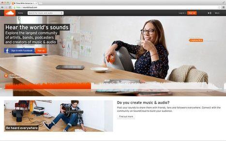 SoundCloud : «Ecoutez les sons du monde » | Check ! | Scoop.it