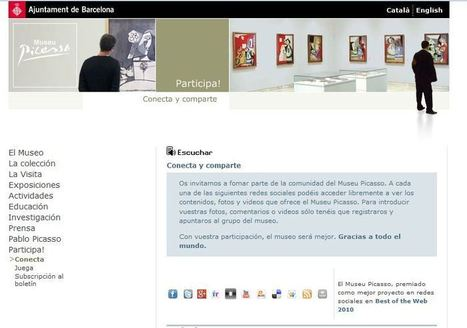 Un ejemplo de Web 2.0: el Museo Picasso de Barcelona | My Art Diary | WEB 2.0 | Scoop.it
