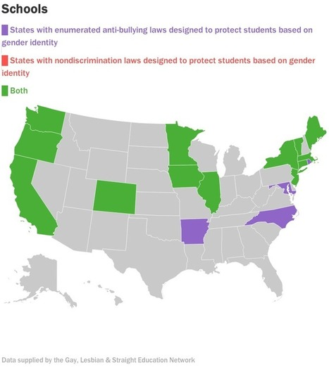 Want to know what transgender rights look like in the US? There's a map for that. | Fabulous Feminism | Scoop.it