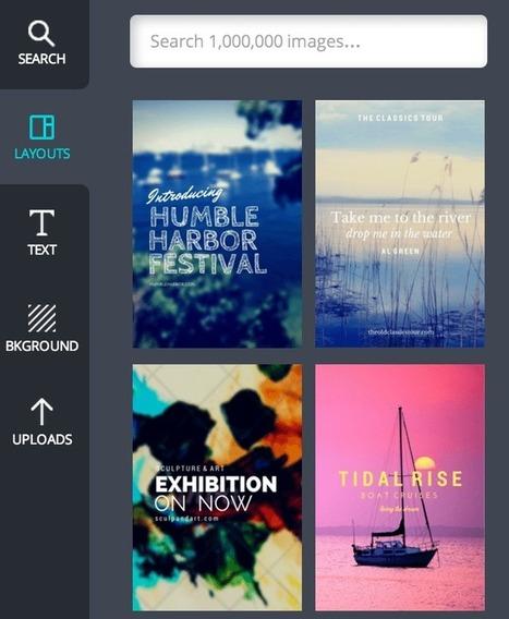5 herramientas para crear imágenes para redes sociales | Educacion, ecologia y TIC | Scoop.it