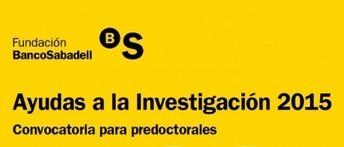 Ayudas a la Investigación 2015 Fundación Banco Sabadell | Injuve, Instituto de la Juventud | FORMACIÓN PARA EL EMPLEO | Scoop.it