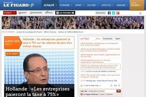 Le Figaro fera payer les articles du journal sur son site | Médias | Médias & Web | Scoop.it