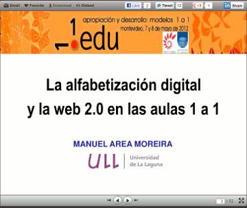 Alfabetizacion digital y Web 2.0 en aulas 1 a 1 | Educación 2.0 | Scoop.it