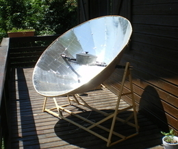 Parabolic solar oven | tecno4 | Scoop.it