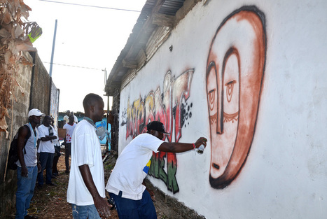 Street art takes on street waste in Libreville | Artdaily.org | Kiosque du monde : Afrique | Scoop.it