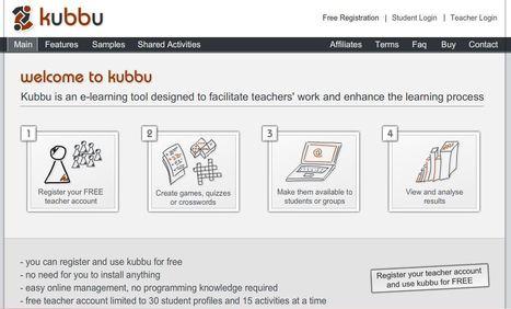 Kubbu. Créer des exercices multimédia en ligne | Les outils du Web 2.0 | Scoop.it