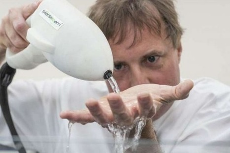 By infusing H2O with ultrasonic bubbles, StarStream gives tap water incredible cleaning power | leapmind | Scoop.it
