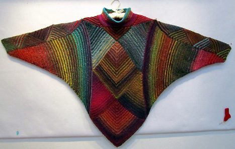 Ravelry: Miteriffic Poncho pattern by Melody Johnson | Kreative ideer | Scoop.it