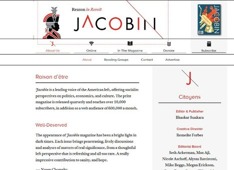 Jacobin   a magazine of culture and polemic   dialectique   Scoop.it